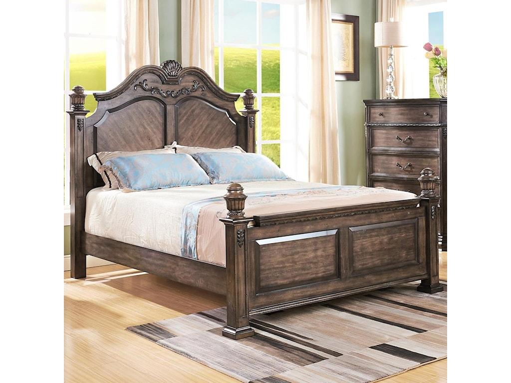 New Classic LarissaQueen Poster Bed