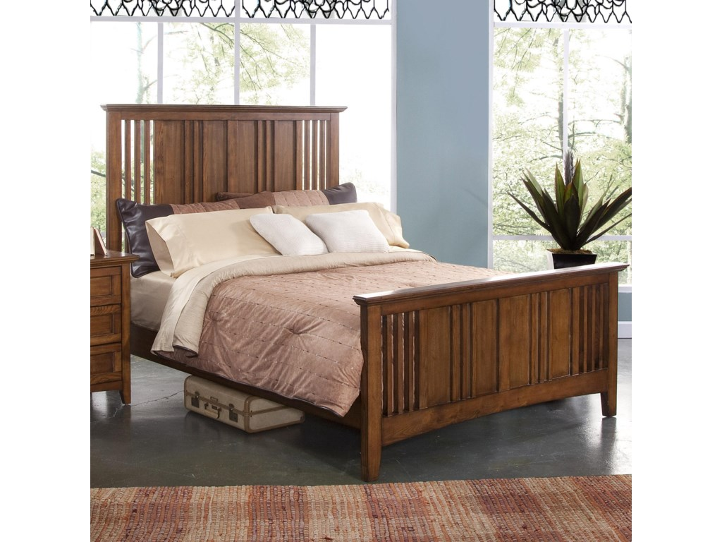 New Classic LoganQueen Panel Bed