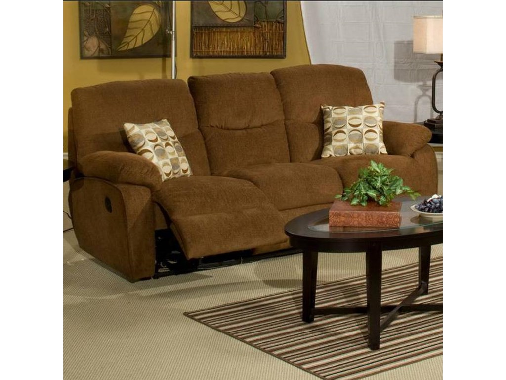 New Classic Manchester 22 412 32 Dual Recliner Sofa Dunk Bright