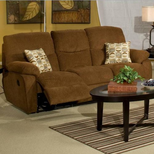 New Classic Manchester Dual Recliner Sofa
