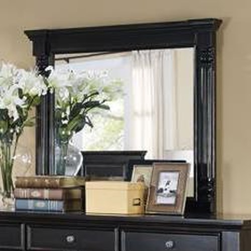 New Classic Martinique Bedroom Transitional Framed Mirror