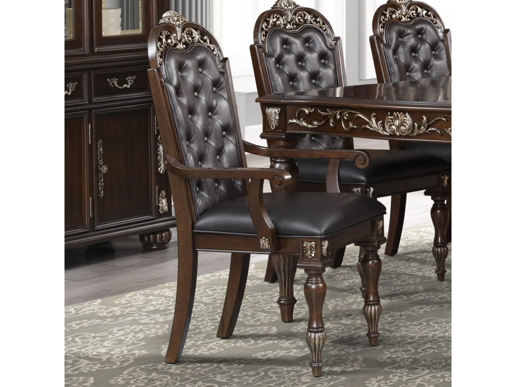 New Classic MaximusUpholstered Arm Chair