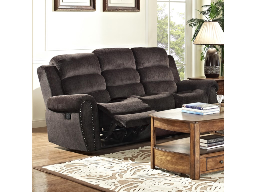 New Classic Merritt 22-2221-32-DTC Casual Power Reclining