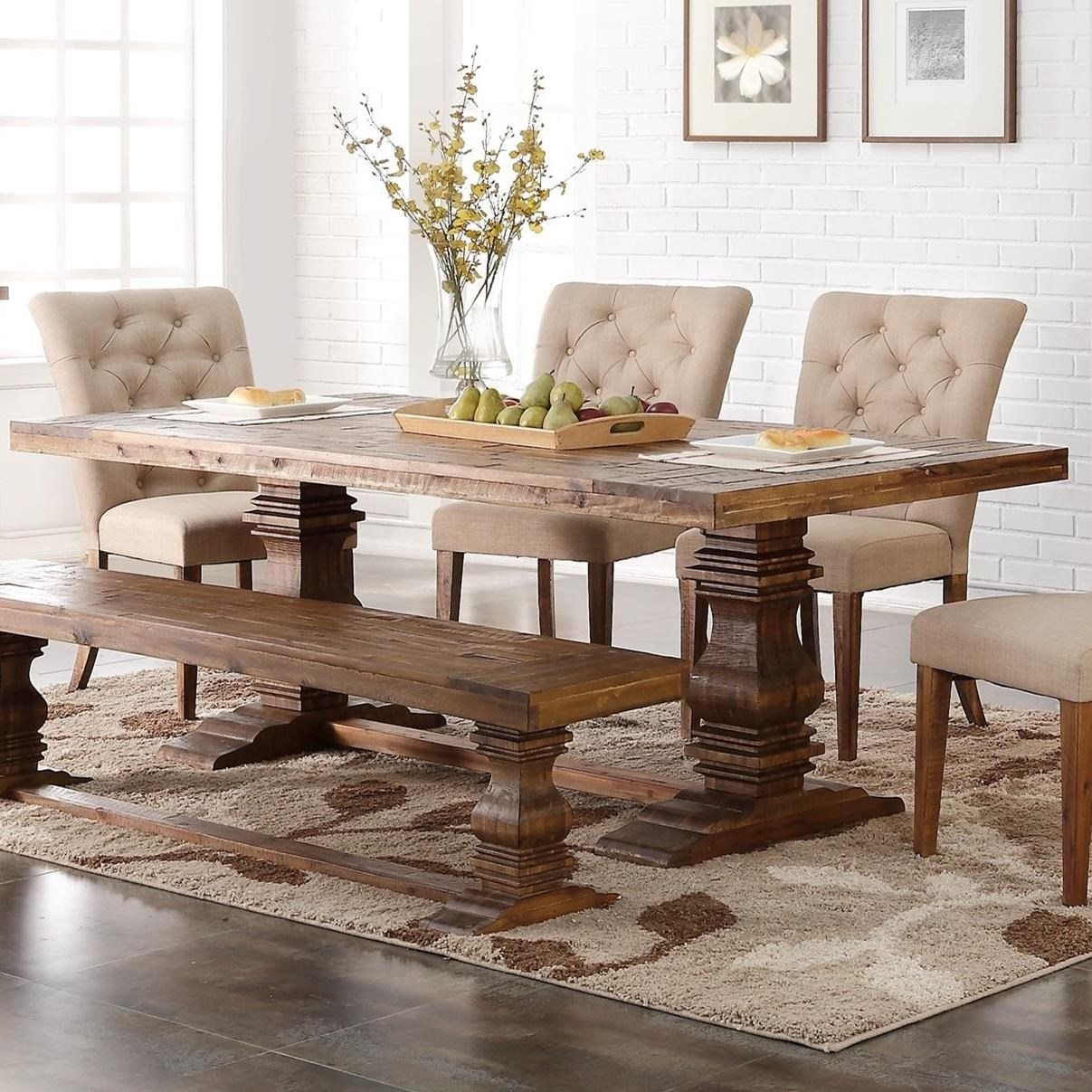 Captivating New Classic Normandy Dining Table