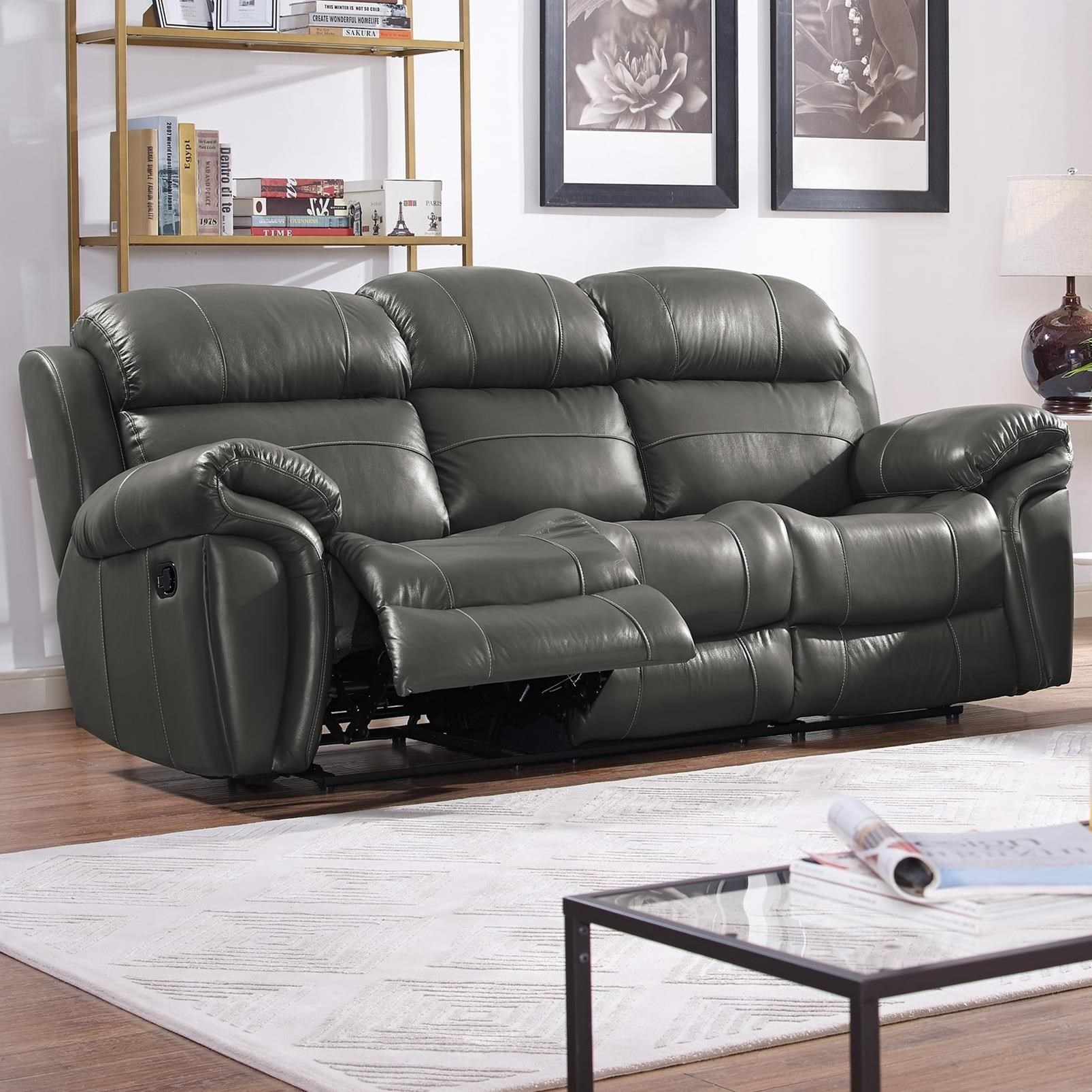 Superieur New Classic Paloma Casual Power Reclining Sofa With Drop Down Tray