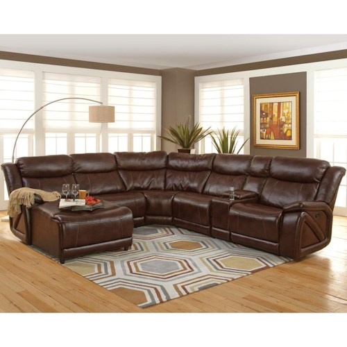 New Classic Park Place Casual Sectional with Chaise and Storage ...