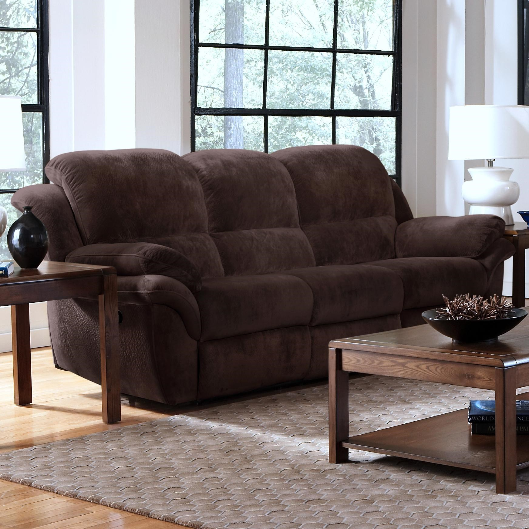 New Classic Pebble Dual Recliner Motion Sofa
