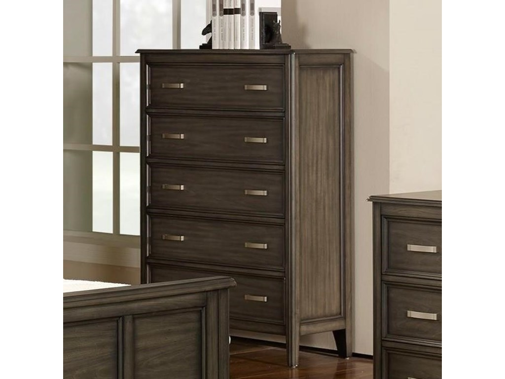 New Classic Richfield SmokeChest of Drawers