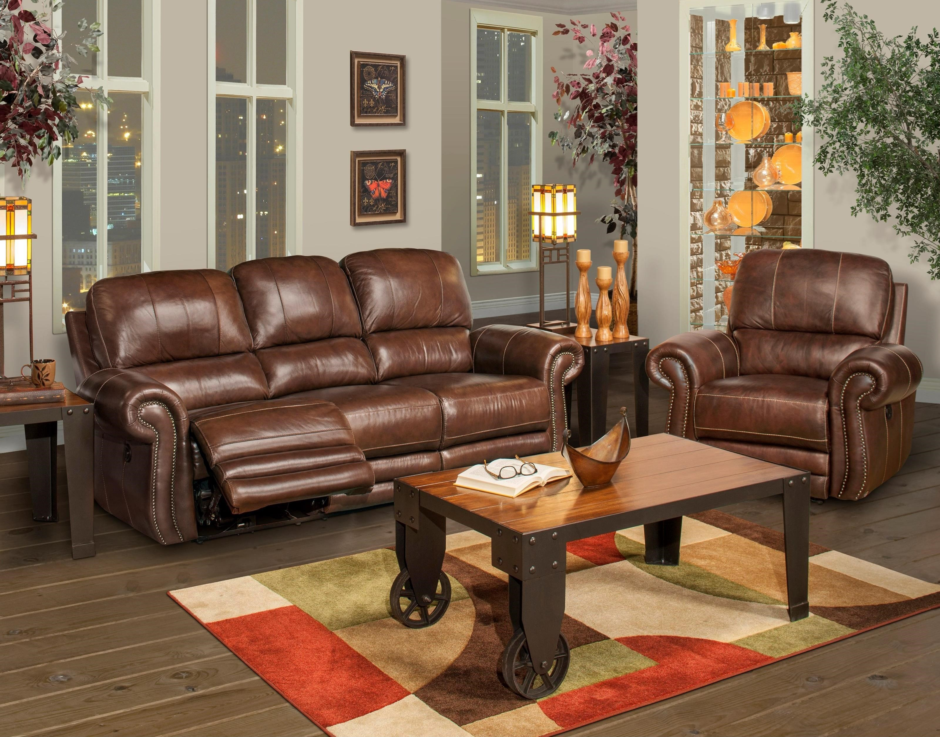 New Classic Rossi Reclining Living Room Group