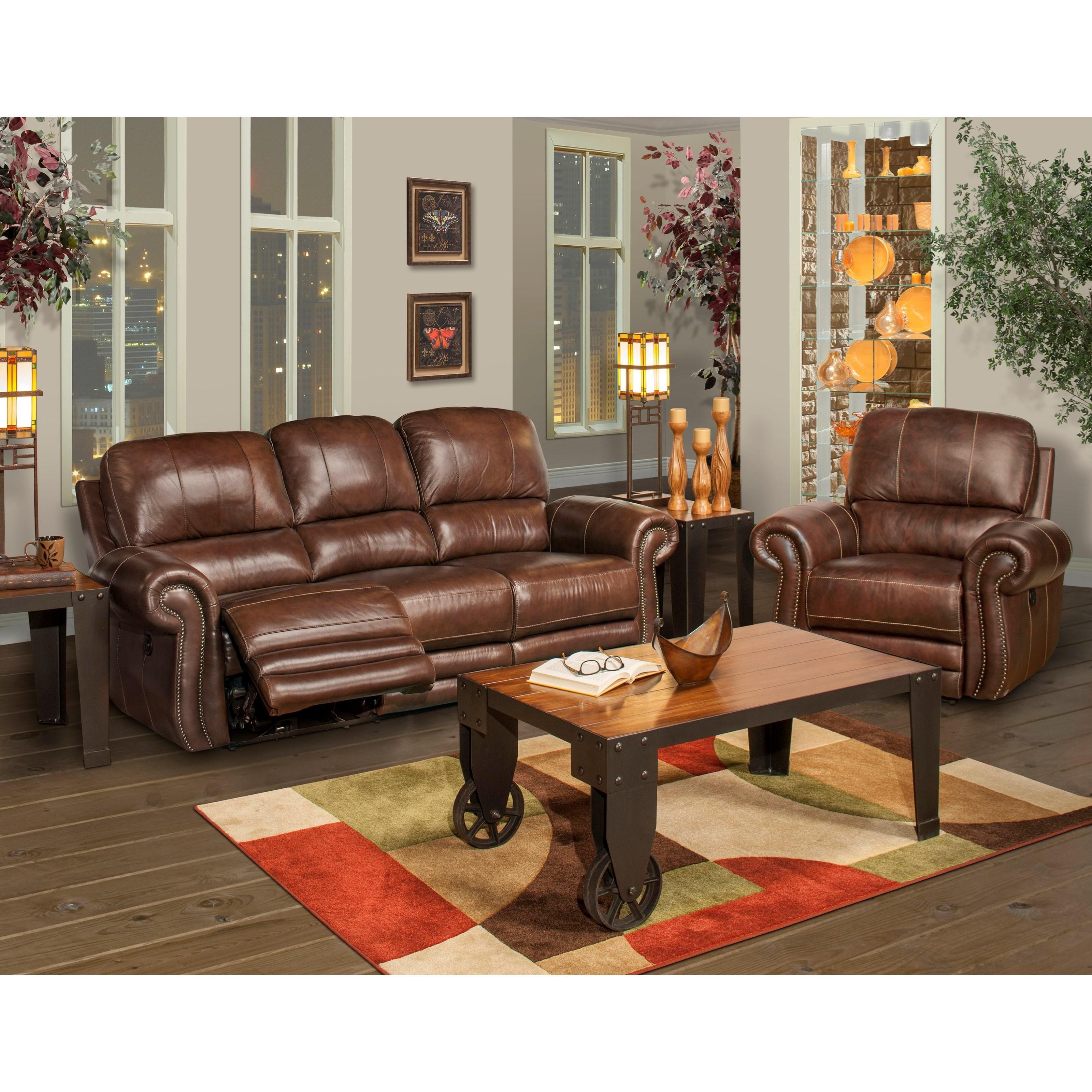 ... New Classic RossiDual Recliner Sofa