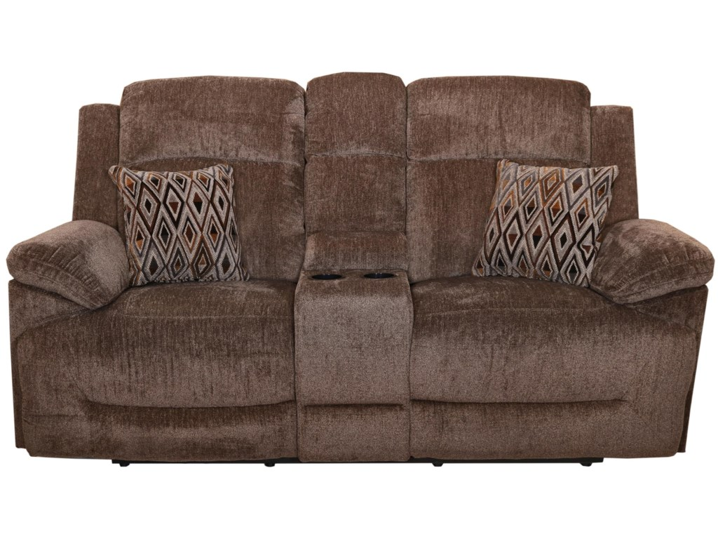 New Classic RyderDual Recliner Loveseat with Console