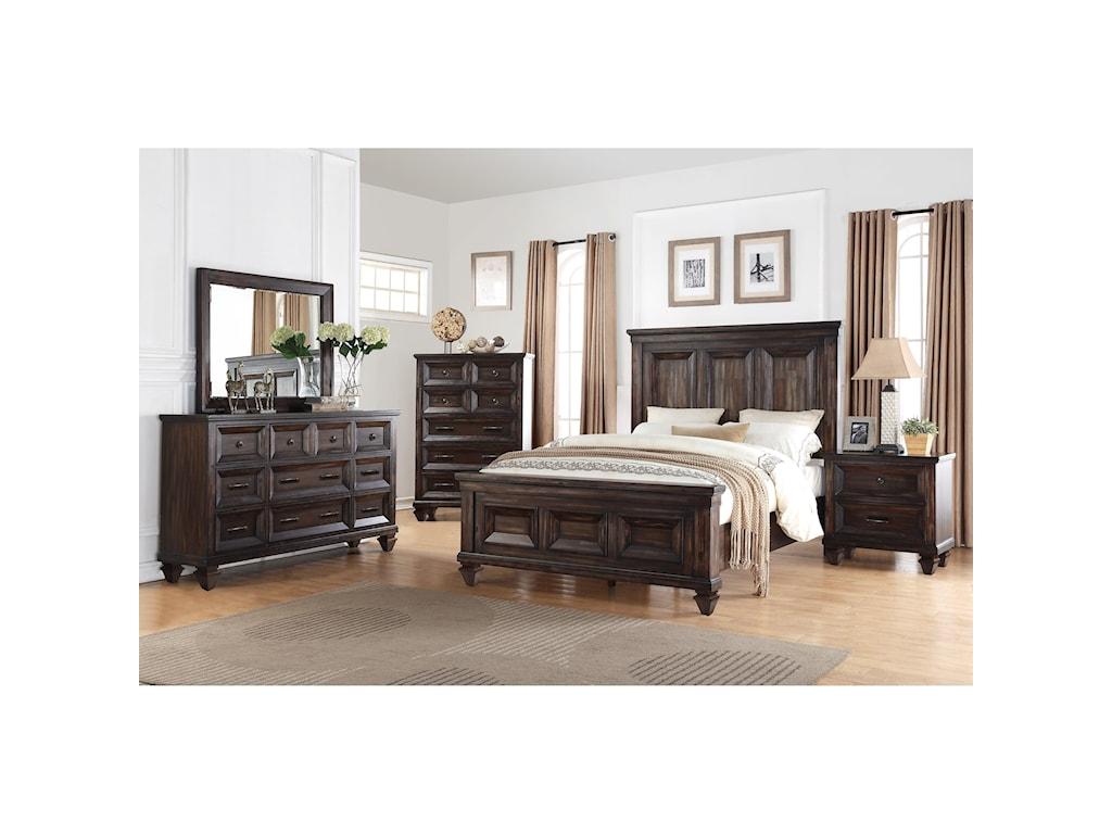 New Classic SevillaQueen Bedroom Group