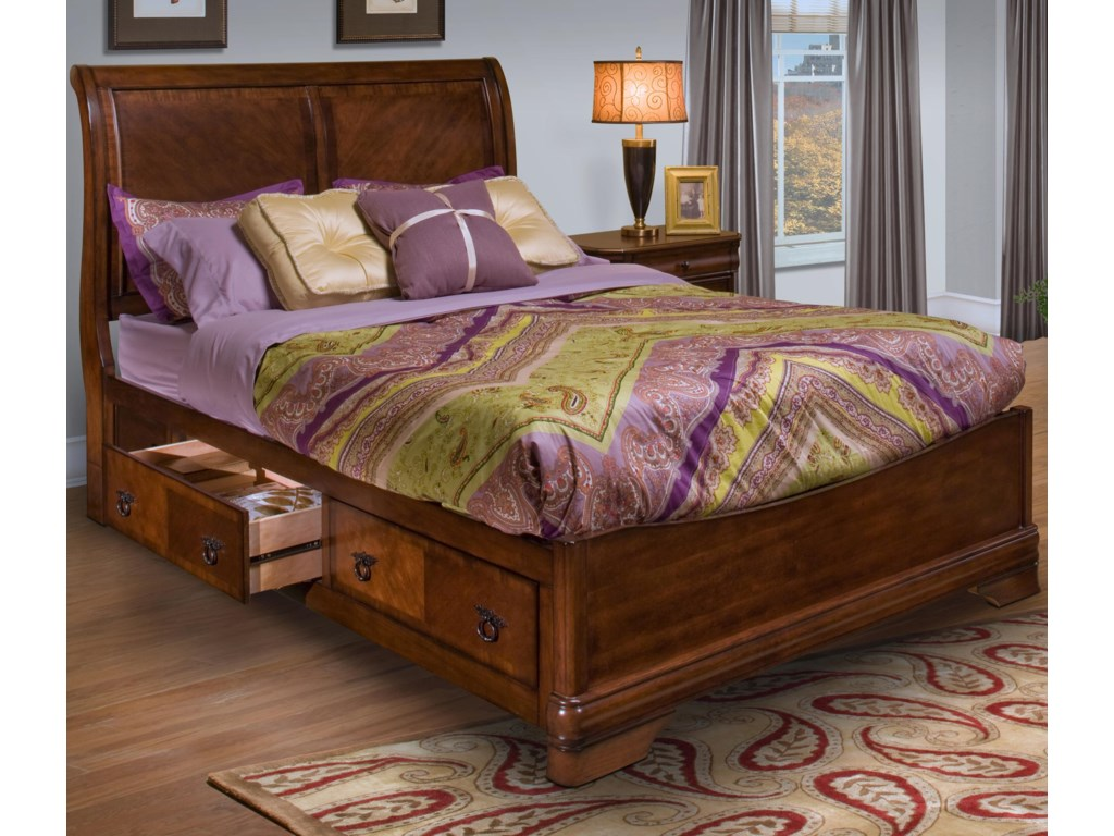 New Classic SheridanQueen Bed with Storage