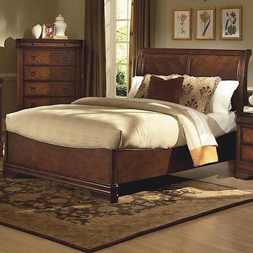 New Classic Sheridan Queen Bed w/ Sleigh Headboard