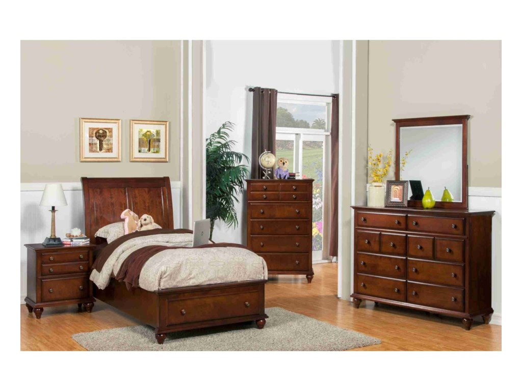New Classic Spring CreekTwin Bedroom Group