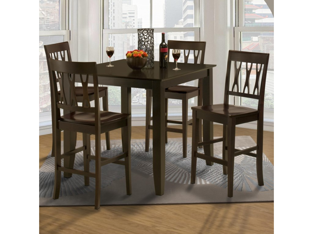 Shown with Counter Height Kitchen Table