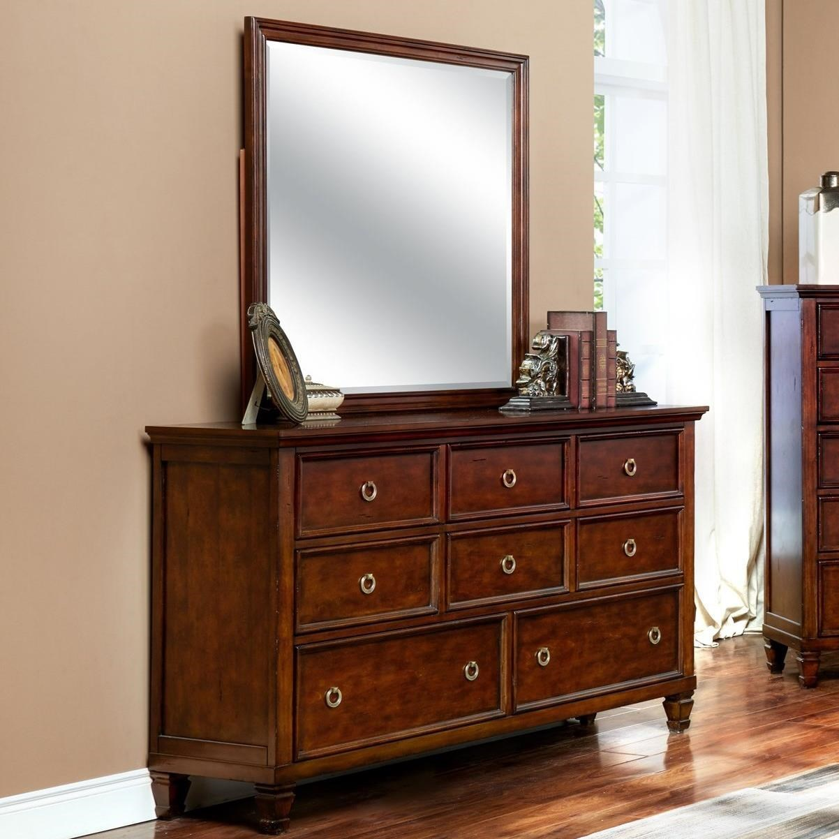 New Classic TamarackDresser And Mirror Set ...
