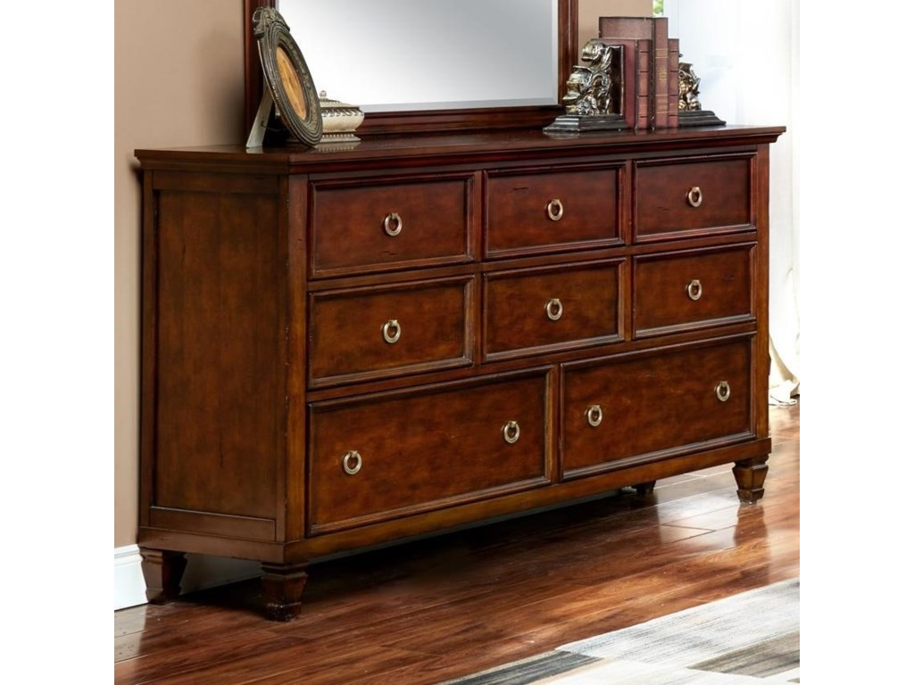 New Classic Countryside8-Drawer Dresser