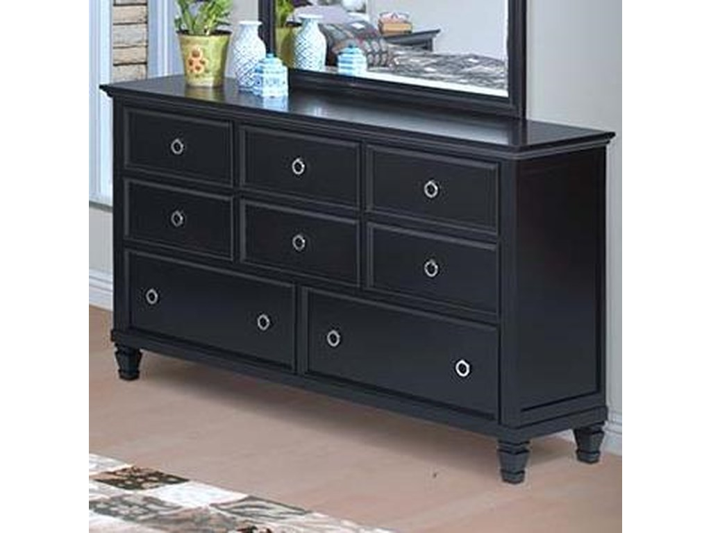 New Classic Tamarack8-Drawer Dresser