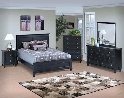New Classic Tamarack King Bedroom Group