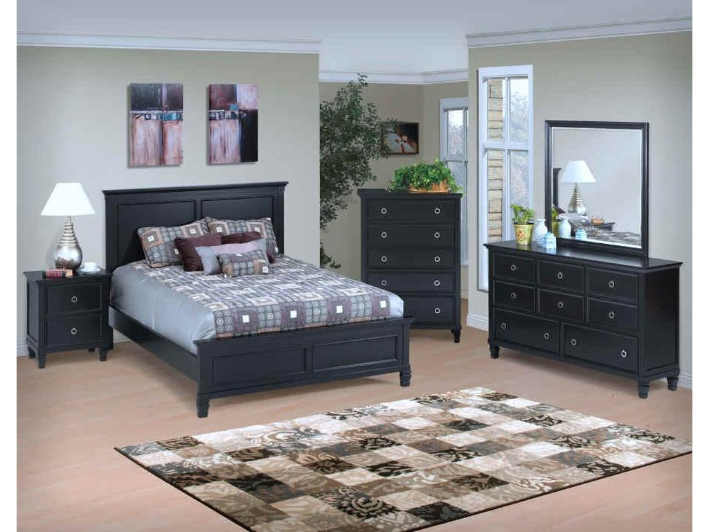 New Classic TamarackQueen Bedroom Group