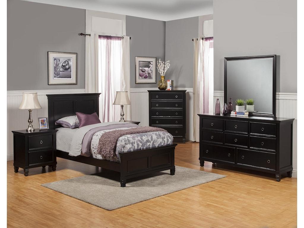 New Classic TamarackTwin Bedroom Group