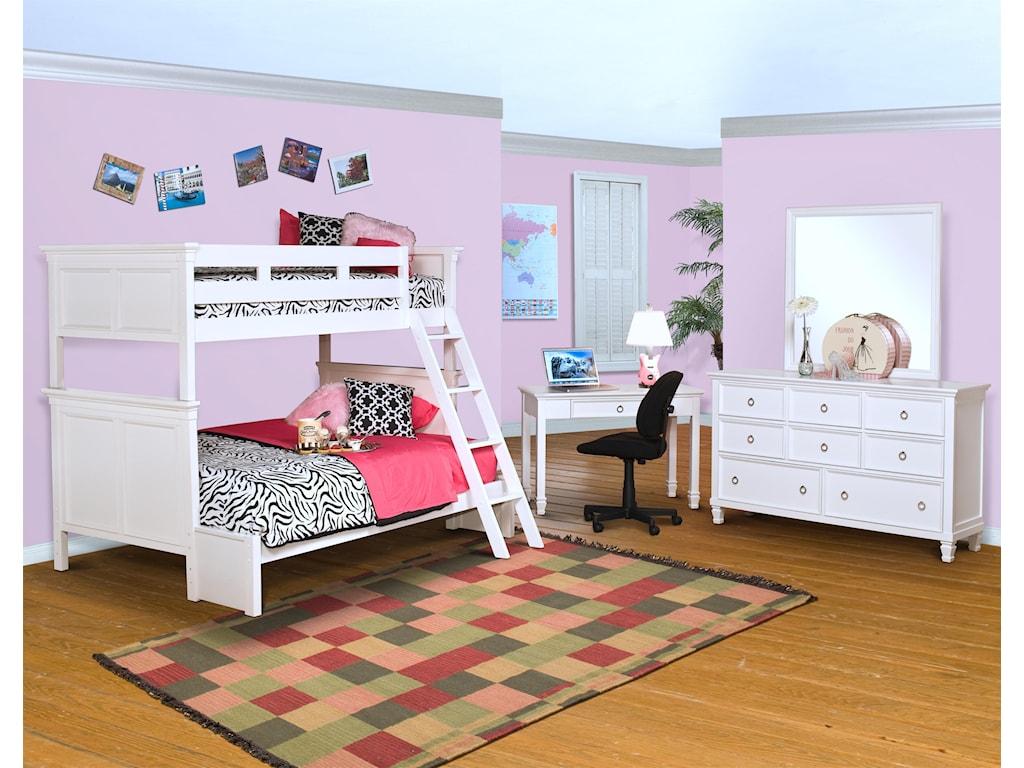 New Classic TamarackBunk Bed
