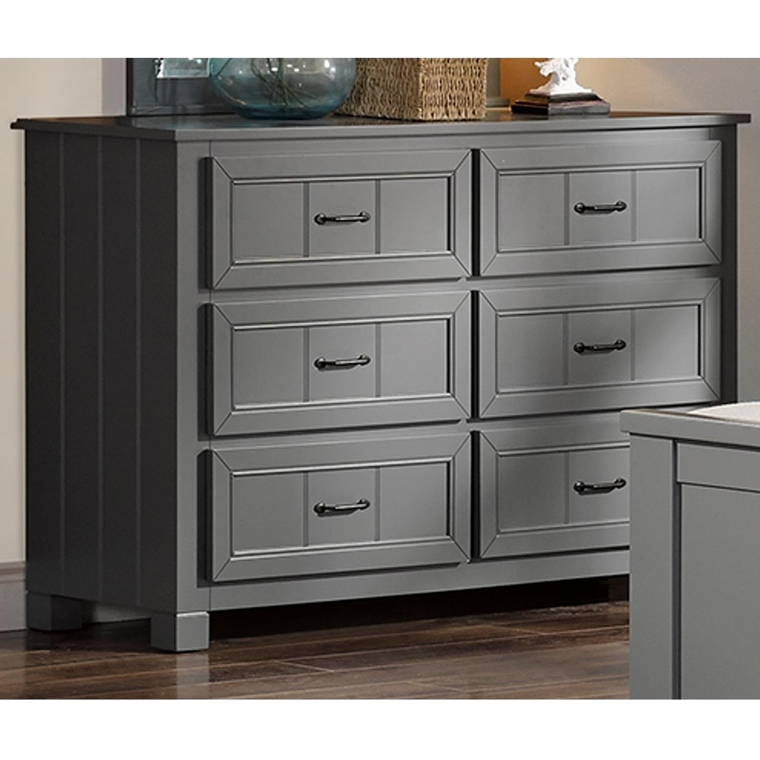 New Classic Taylor Youth Bedroom Casual 6 Drawer Dresser