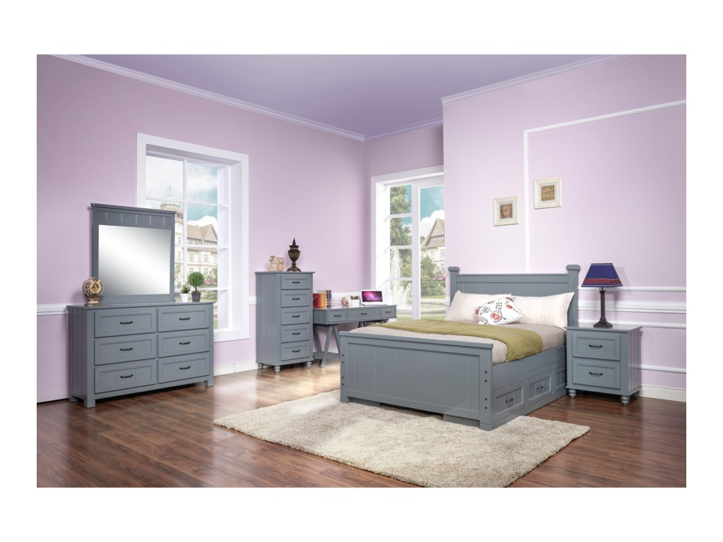 New Classic Taylor Youth BedroomFull Bedroom Group
