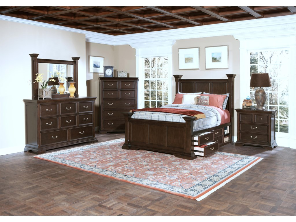 Shown with Chest, Bed, and Nightstand