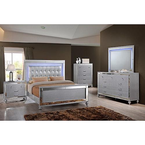New Classic Valentino Queen Bedroom Group