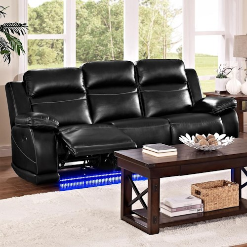new height jet power furniture percentpadding f pbk casual walker products threshold item down sharpen base width classic reclining trim preserve lighted with s sofa