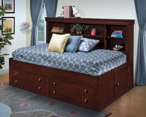 New Classic Versaille Twin Lounge Captain's Bed