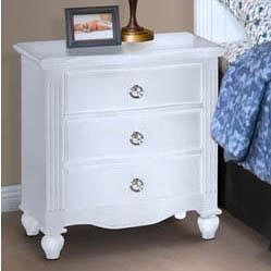 New Classic Victoria 3 Drawer Night Stand