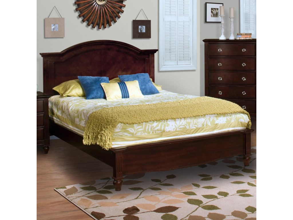 New Classic VictoriaQueen Panel Bed