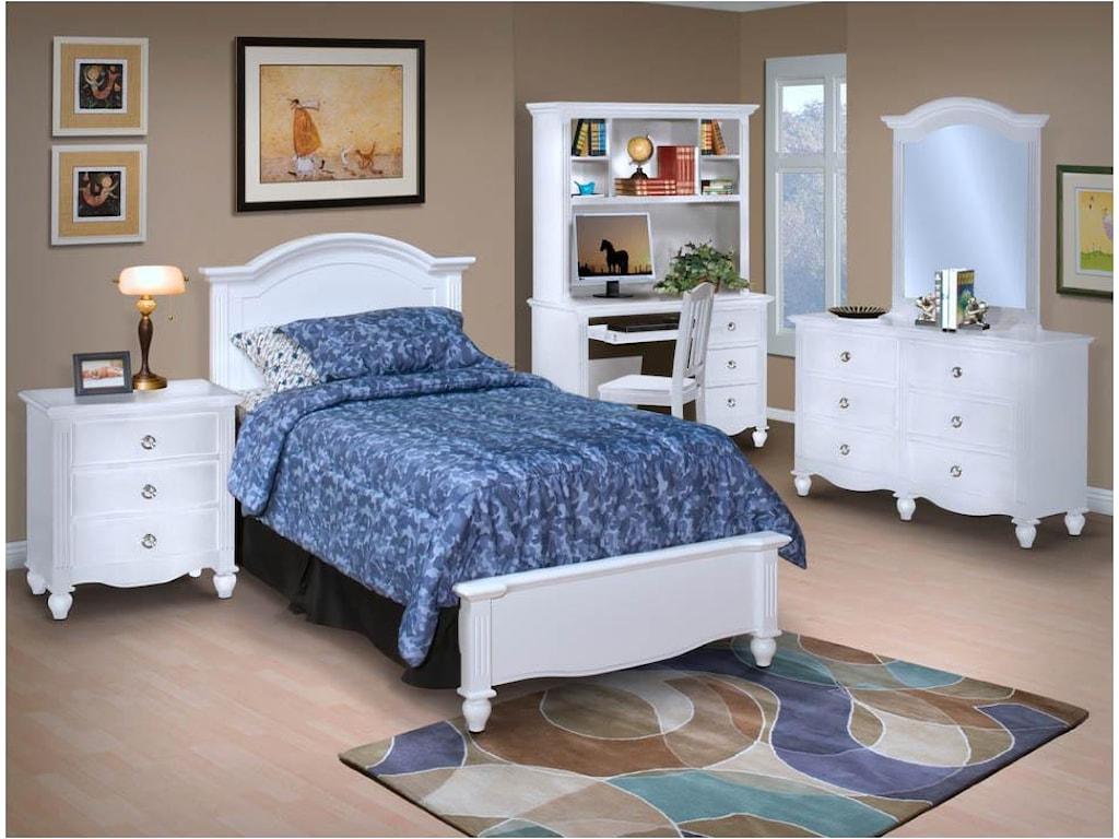 New Classic VictoriaTwin Bed