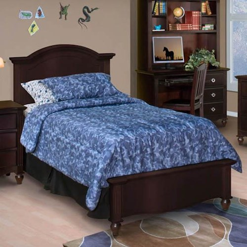 New Classic Victoria Twin Headboard and Footboard Bed