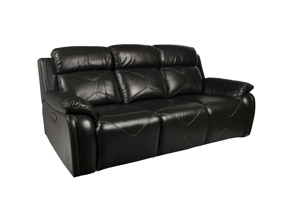 New Classic VigoPower Reclining Sofa with Power Headrest