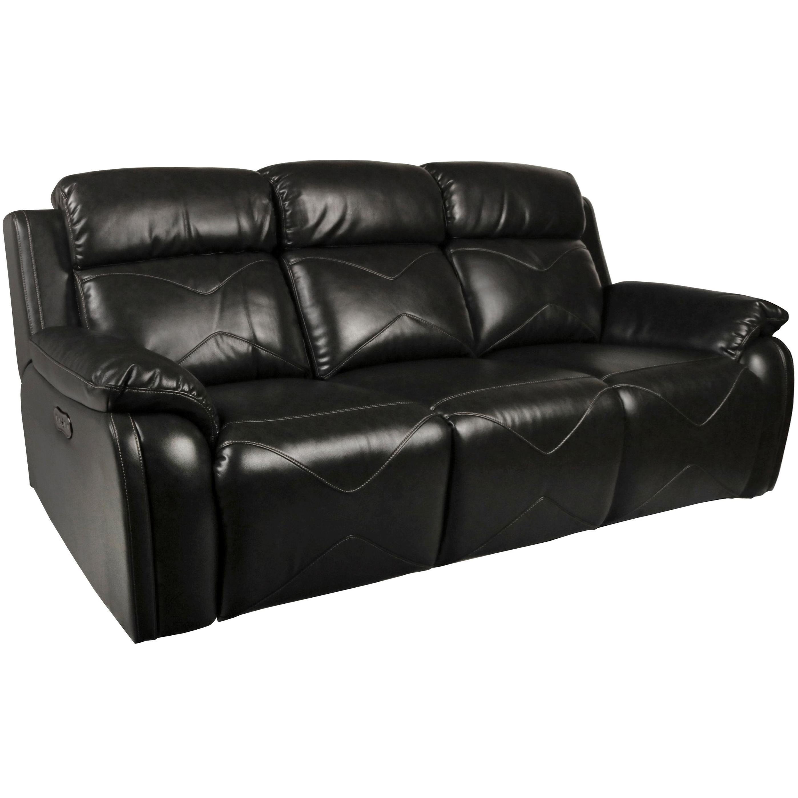New Classic VigoPower Reclining Sofa With Power Headrest ...