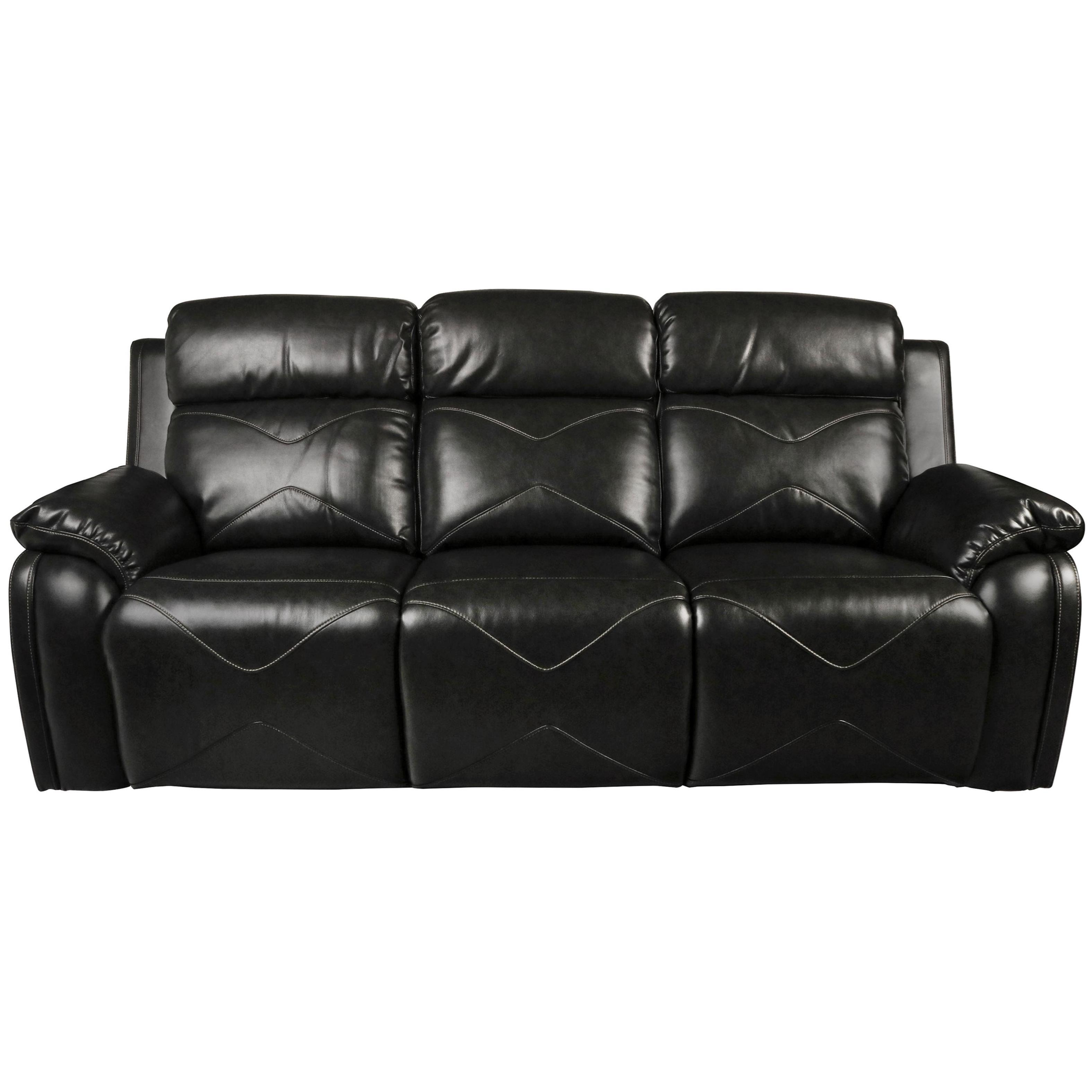 ... New Classic VigoPower Reclining Sofa With Power Headrest ...
