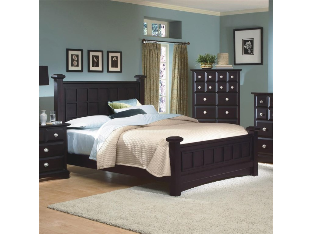 New Classic ArborCalifornia King Panel Bed