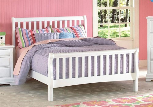 New Classic Bayfront Full Sleigh Bed