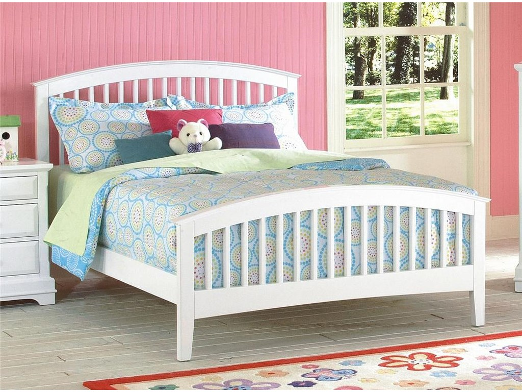 New Classic BayfrontTwin Slat Bed