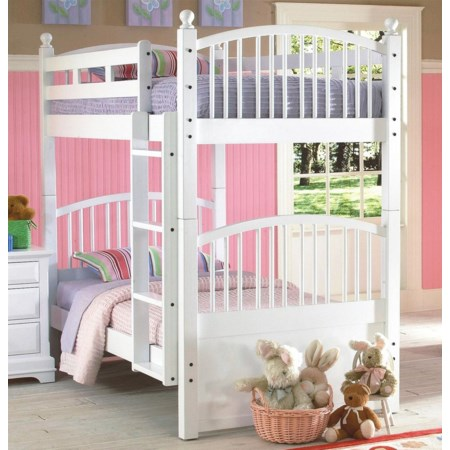 Twin Spindle Bunk Bed