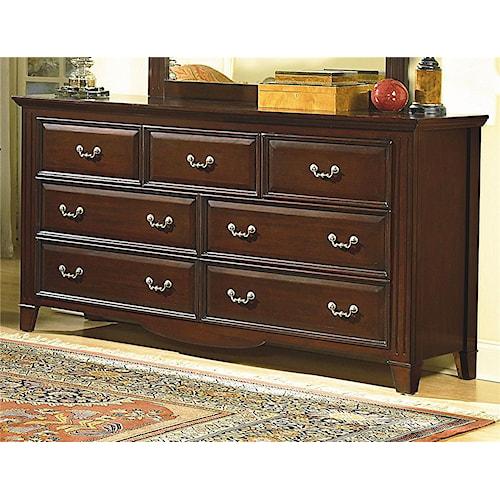 New Classic Drayton Hall Seven Drawer Dresser