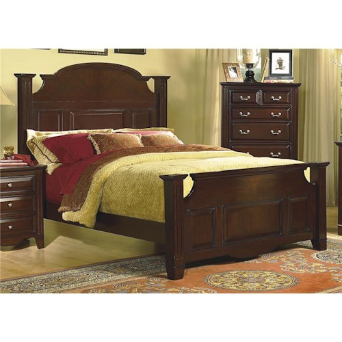 New Classic Drayton Hall California King Poster Bed