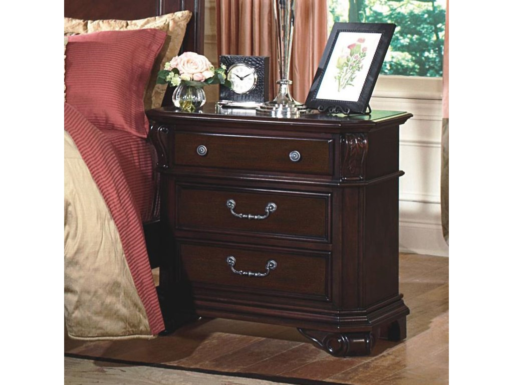 New Classic Emilie3-Drawer Nightstand