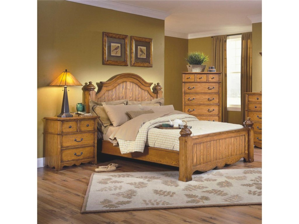New Classic HaileyQueen Panel Bed