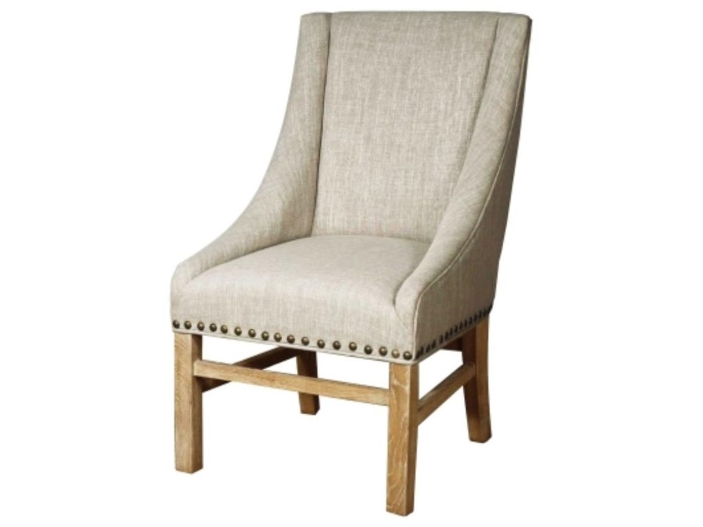 Happy Chair AaronAaron Sloping Arm Chair, Rice