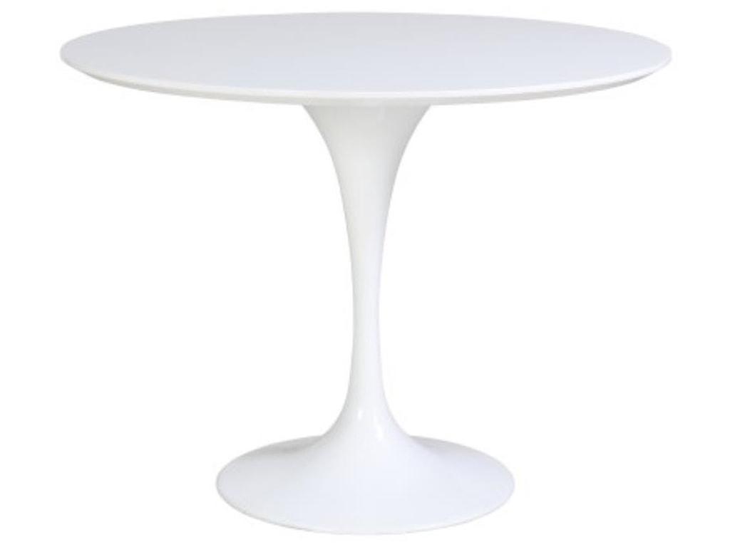 Happy Chair AllieAllie Round Table, White